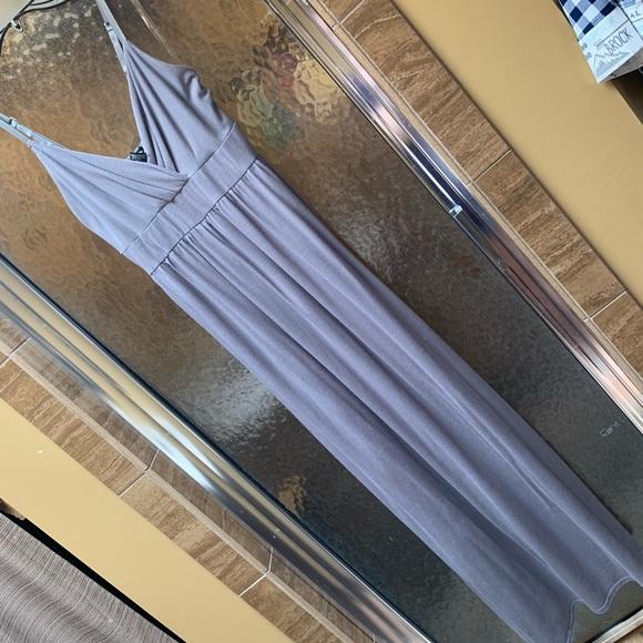perfect gold Dresses & Skirts - Grey maxi dress size large